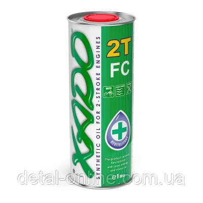 Моторное масло XADO Atomic OIL 2Т FC (1л)