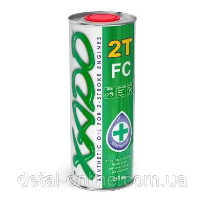 Моторное масло XADO Atomic OIL 2Т FC (1л), фото 2
