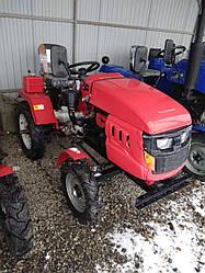 Трактор DW 160LXL 16 л.с.+ плавающая фреза 100см.