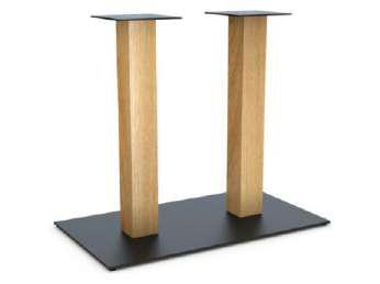 Опоры -ножки в стиле Лофт, из металла для массивных столешниц.