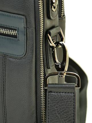 Сумка Мужская Планшет кожаный BRETTON BE 5408-3 black, фото 2