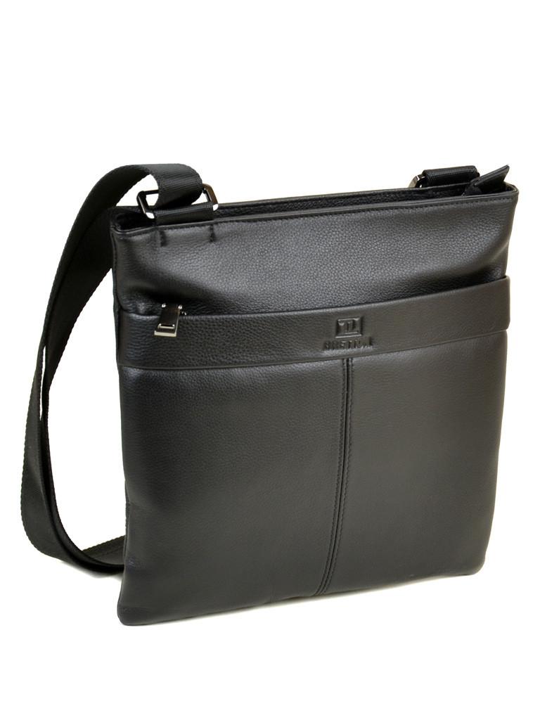 Мужская сумка планшет через плечо кожаный BRETTON BE 72970-1 black