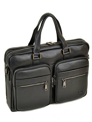 Сумка Мужская Портфель кожаный BRETTON BE 5359-1 black, фото 2