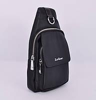 Мужская сумка слинг через плечо, рюкзак ZunGuan 8603 черный, фото 1