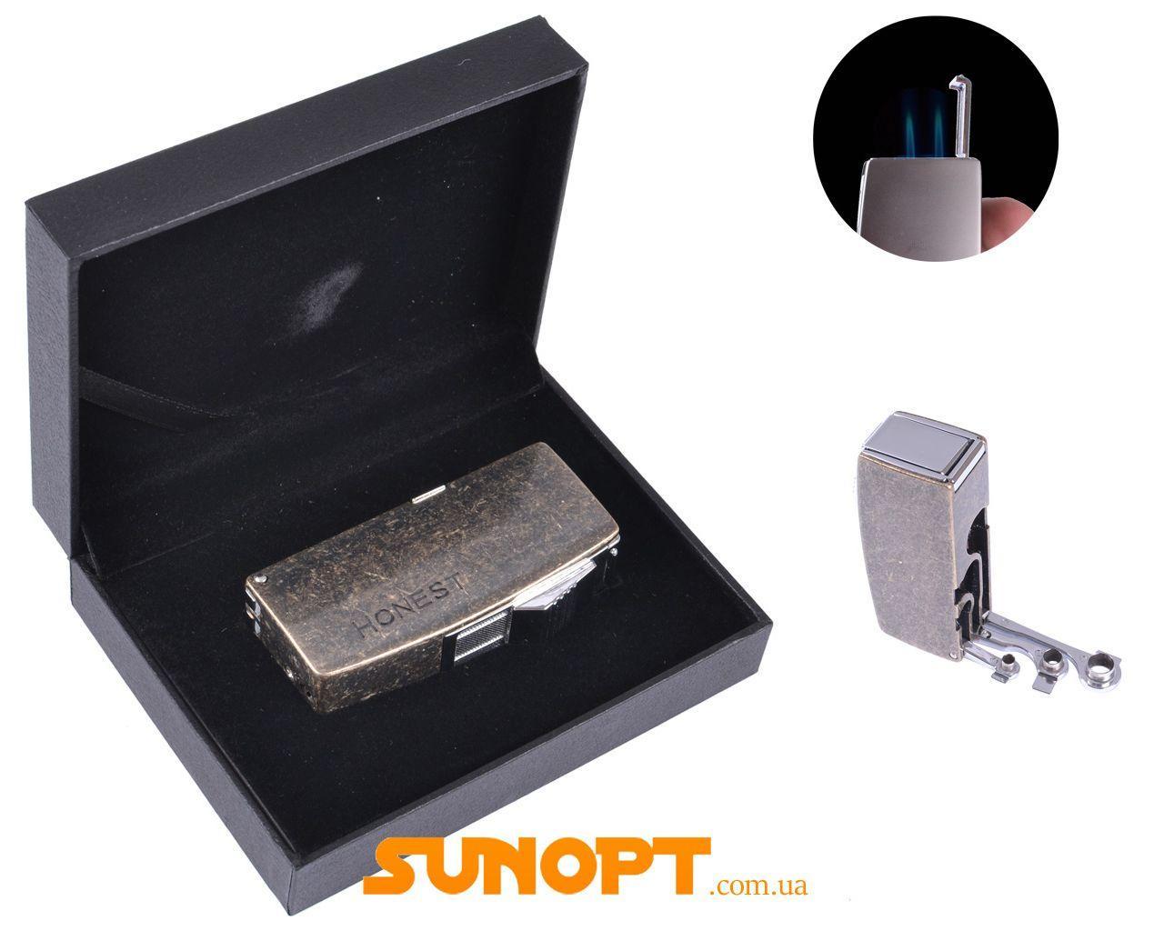 Зажигалка для сигар в подарочной упаковке Honest (Острое пламя) №3008-1