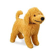 "Собачка Френчи из мультфильма ""Необычная Нэнси"" 19 см Disney Frenchy Mini Bean Bag Plush 1235000441251P"