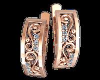 Золотые серьги Бессарабские