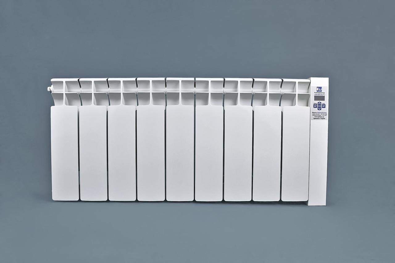 Электрорадиатор ОптиМакс низкопольный  на 9 секции 1080Вт