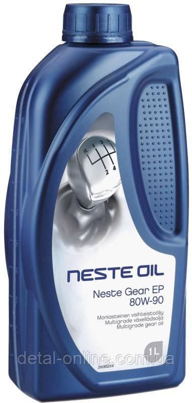 Купить NESTE Gear EP 80W-90 Трансмиссионное масло (1л)