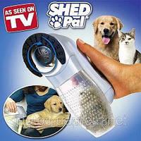 Машинка расческа для вычесывания сбора подшерстка животных Shed Pal