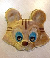 Маска карнавальная Bonita детская Тигр коричневая