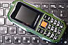 Противоударный телефон LAND ROVER L9 - 2 sim, батарея 3800 mah, камера 2 Mp, русская клавиатураОплата на почте - Фото