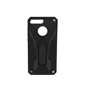 Чехол накладка для Huawei Y6 Prime 2018 противоударный, iPaky Cavalier Seria, черный