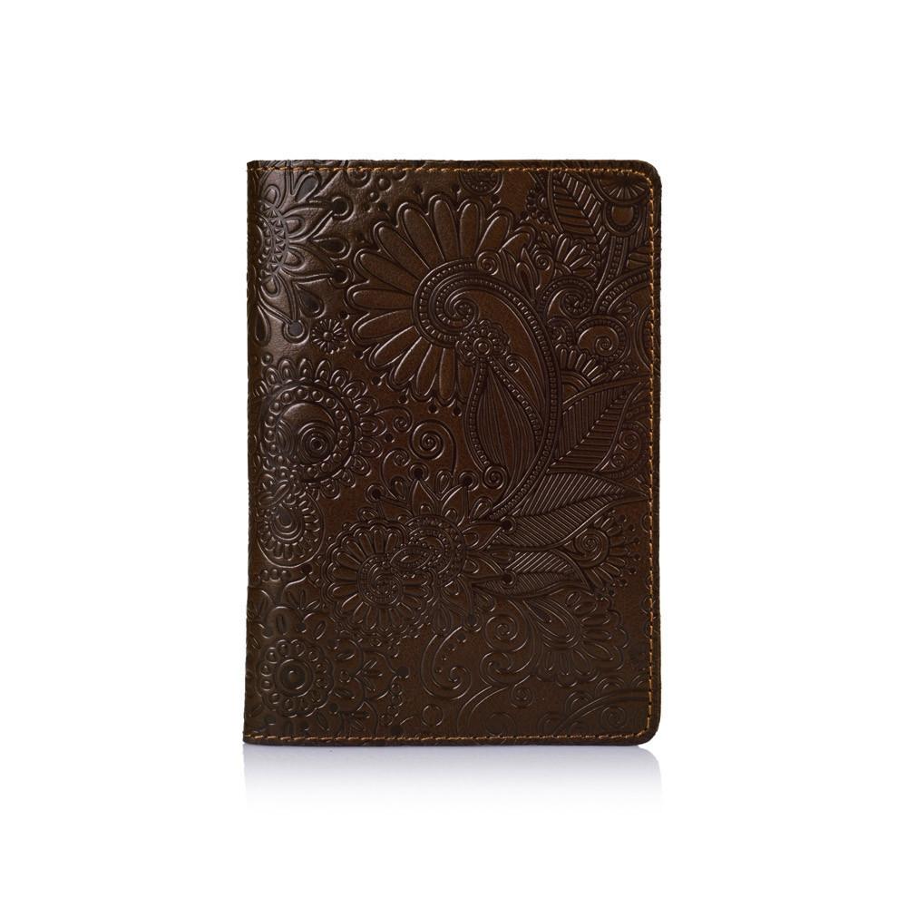 Обложка для паспорта HiArt Crystal Olive Mehendi Art