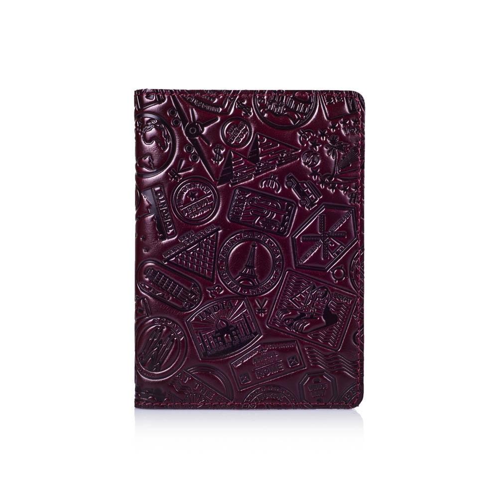 Обложка для паспорта HiArt Crystal Sangria Lets Go Travel