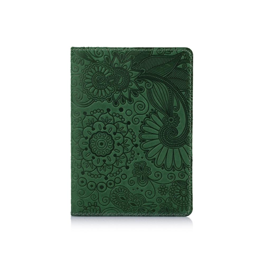 Обложка для паспорта HiArt Shabby Alga Mehendi Art
