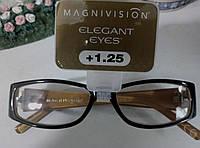 Брендовские очки MLGNIVISION для зрения +1.25-оригинал, фото 1