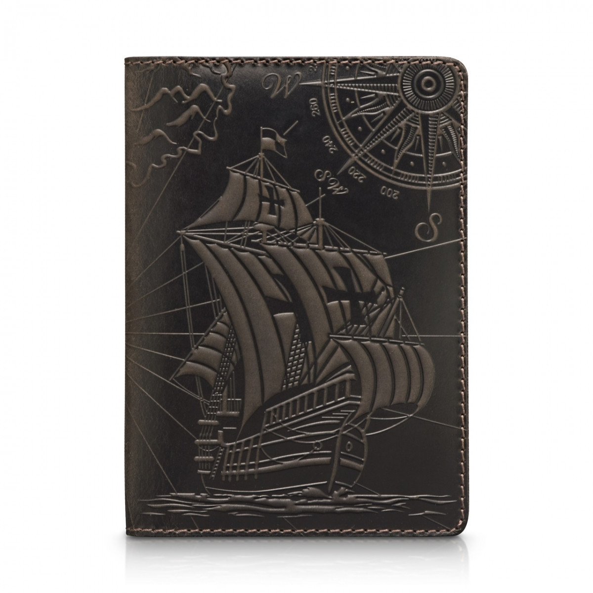 Обложка для паспорта HiArt Shabby Gavana Brown Discoveries