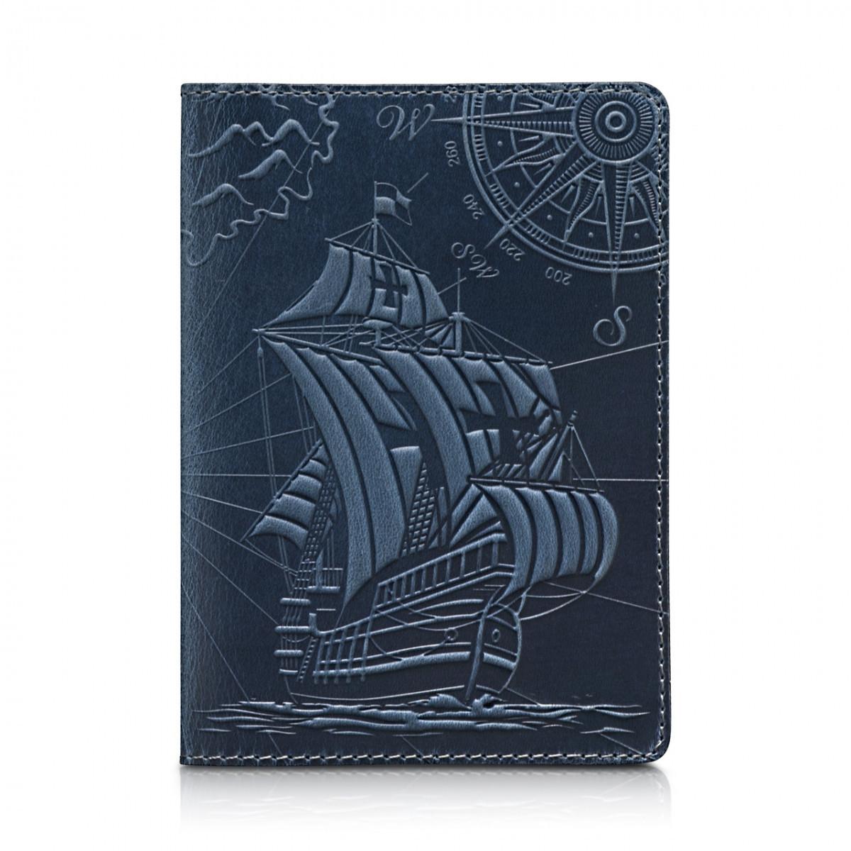Обложка для паспорта HiArt Shabby Lagoon Discoveries