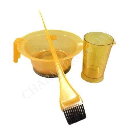 Набір для фарбування волосся 3в1 (Жовтий)