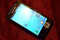 """Lenovo A369 3G, 2 SIM, 2 ядра, 4"""" экран, Android, белый,черный. Оплата на почте"""