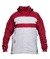 🔺Чоловіча гірськолижна куртка Bonfire Fusion C10 S White Red (зима лижна  нейлон) ( 6d7126d8b4950