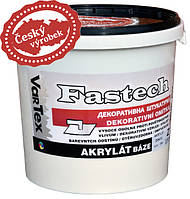 Акриловая штукатурка VarTex Fastech, барашек, размер зерна: 1,5 мм, ведро - 25 кг