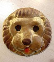 Маска карнавальная Bonita детская Львенок коричневая
