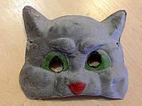 Маска карнавальная Bonita детская Кот серая