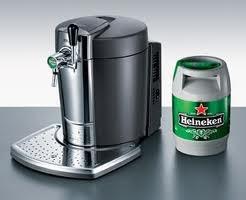 Биртендер (BeerTender) бытовой диспенсер-охладитель для 5л  кеги «Хайнекен» (Heineken)