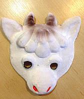 Маска карнавальная Bonita детская Козлик белая