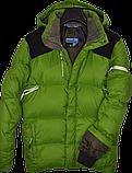 Очень теплый мужской зимний горно-лыжный пуховик Salomon., фото 2