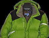 Очень теплый мужской зимний горно-лыжный пуховик Salomon., фото 3