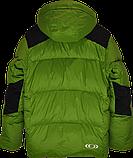 Очень теплый мужской зимний горно-лыжный пуховик Salomon., фото 5