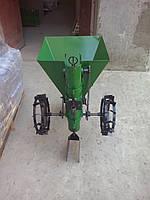 """Картофелесажалка ТМ ШИП """"Зеленая"""" (цепная, 30 л) с бункером для удобрений, фото 1"""