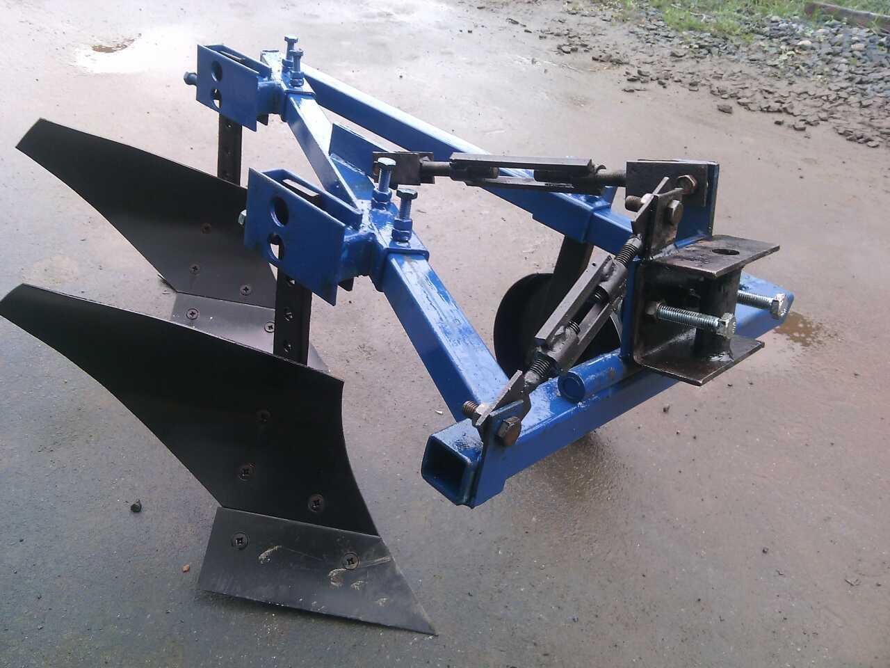 Плуг для мототрактора ТМ ШИП 2-20 усиленный