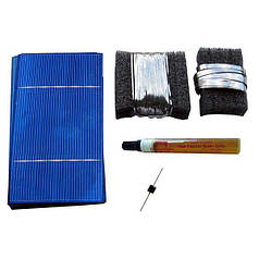 AXIOMA energy Солнечная батарея своими руками. Конструктор. К-70 Поли, AXIOMA energy
