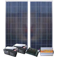 AXIOMA energy Автономная Солнечная электростанция - Дача 48/14кВт*ч в мес., AXIOMA energy