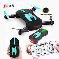 Портативный селфи-дрон JY018
