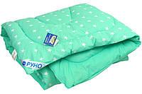 """Одеяло детское зимнее шерстяное 105х140 см салатовое ТМ """"Руно"""", фото 1"""