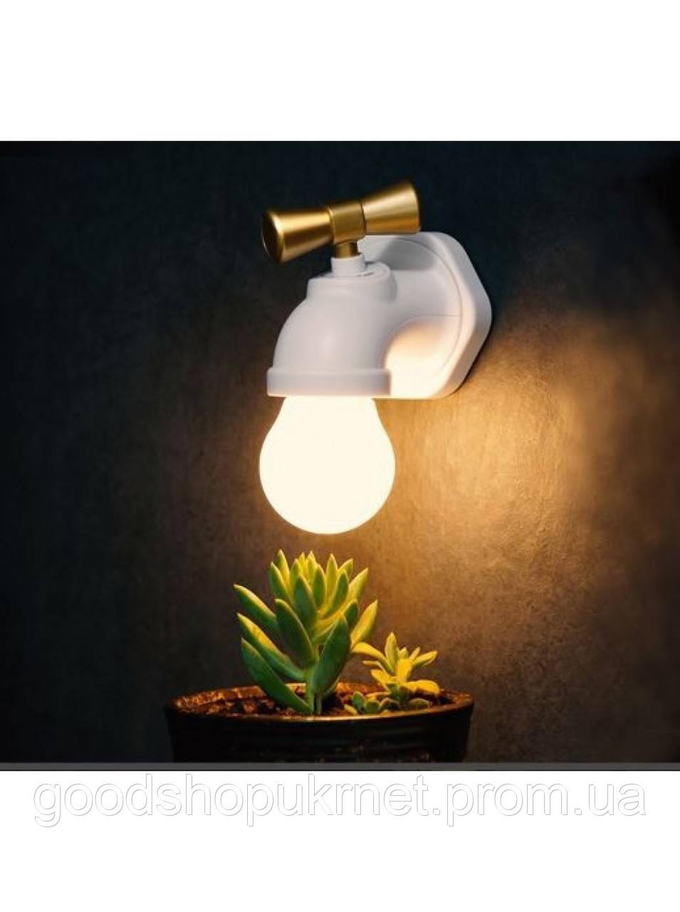 Настенный светильник Кран