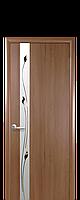 """Двери межкомнатные ТМ Новый Стиль """"Злата De luxe""""  Рисунок 1 золотая ольха , фото 1"""