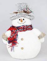 Новогодний декор Снеговик 32 см (psg_BD-NY27-S22)