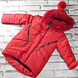 Куртка зимняя на девочку, фото 2