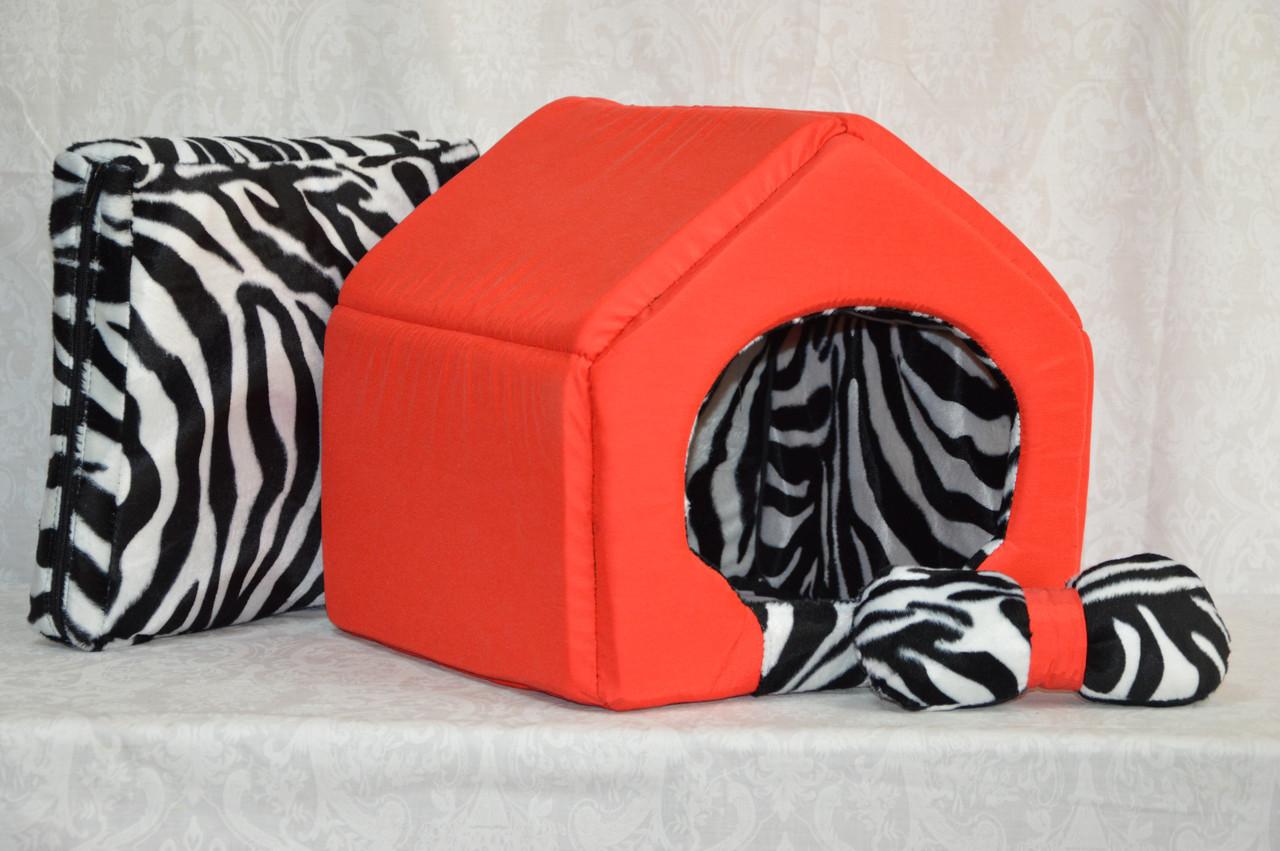 Домик для котов и собак Леопард-2 №3 385х480х430