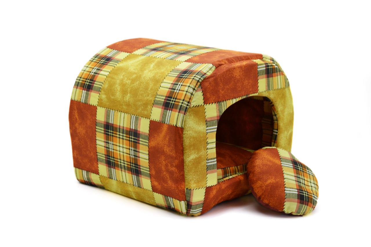 Будка туннель для собак и котов бязь №1 310х360х310