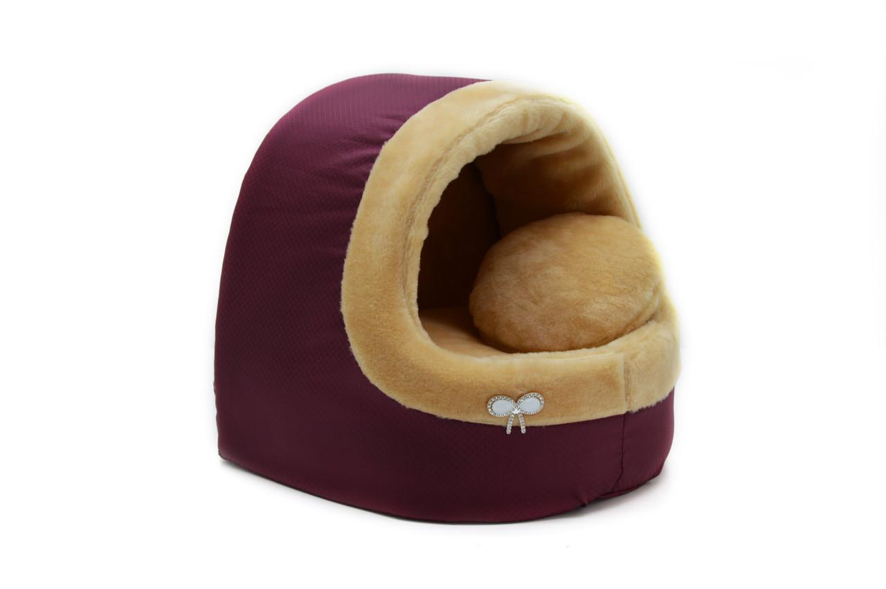 Будка для котов и собак Мех-2 №3 520х440х440