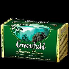 """Чай пакетированный зеленый Greenfield """"Jasmine Dream"""" 25шт Жасмин"""