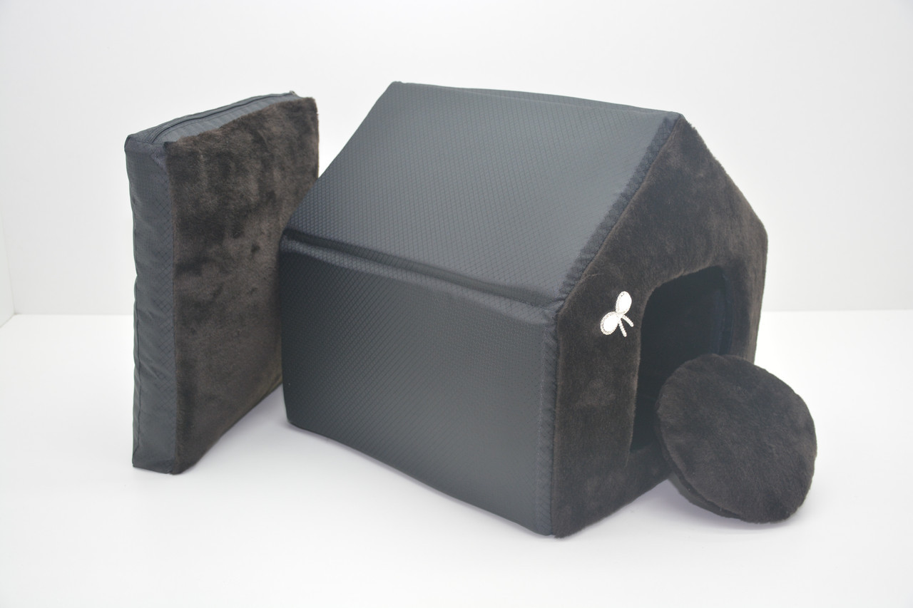 Домик для котов и собак Мех-2 №1 300х330х330