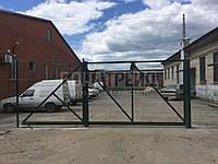 Ворота откатные РУБЕЖ/КОЛЬЧУГА 1800, 86х94х7500, 5000